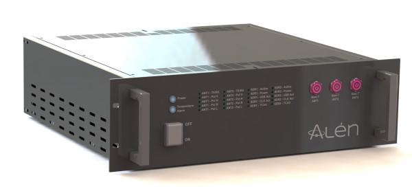 Alén Space SDR-Rack – Ground Segment Communications